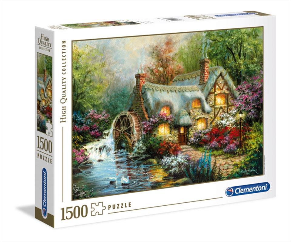 Country Retreat 1500 Piece Puzzle   Merchandise