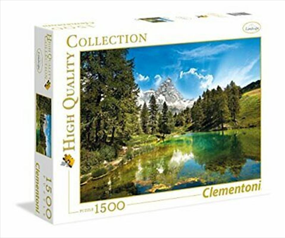 Blue Lake 1500 Piece Puzzle | Merchandise