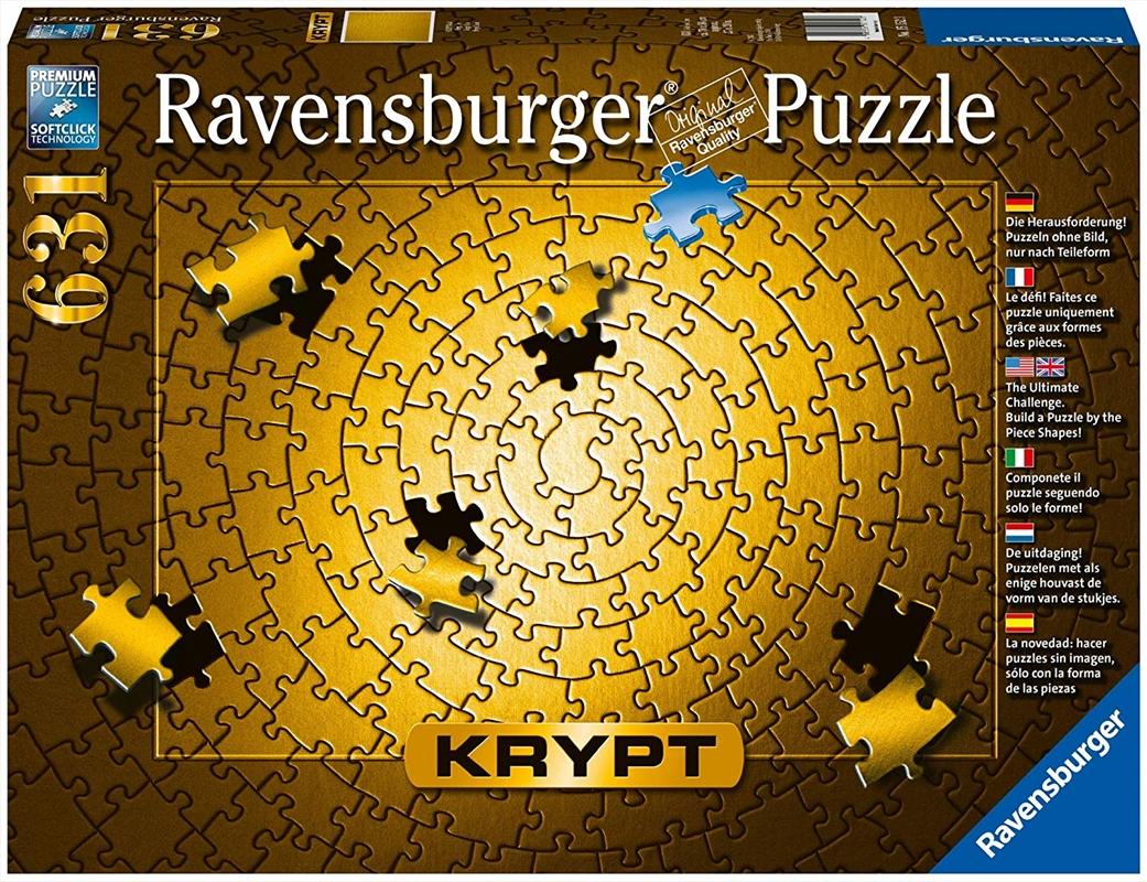 Krypt Gold Spiral 631Piece - Ravensburger | Merchandise