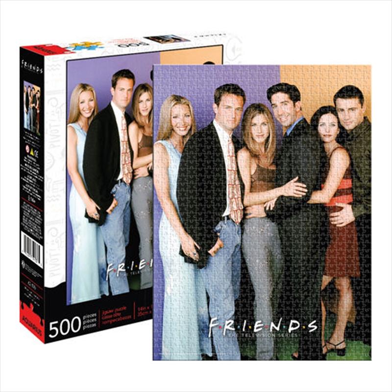 Friends Cast 500 Piece Puzzle | Merchandise