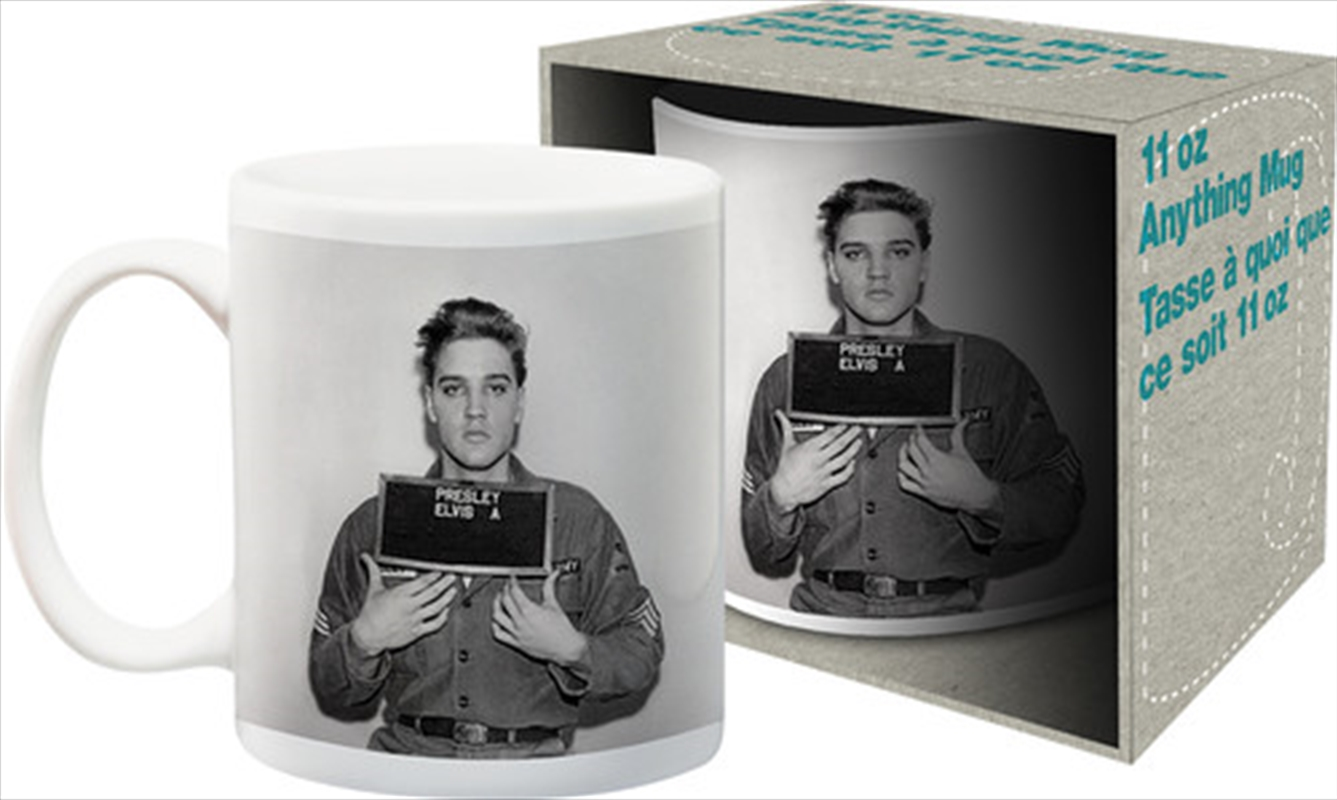 Elvis Enlistment Photo 11oz Boxed Mug | Merchandise