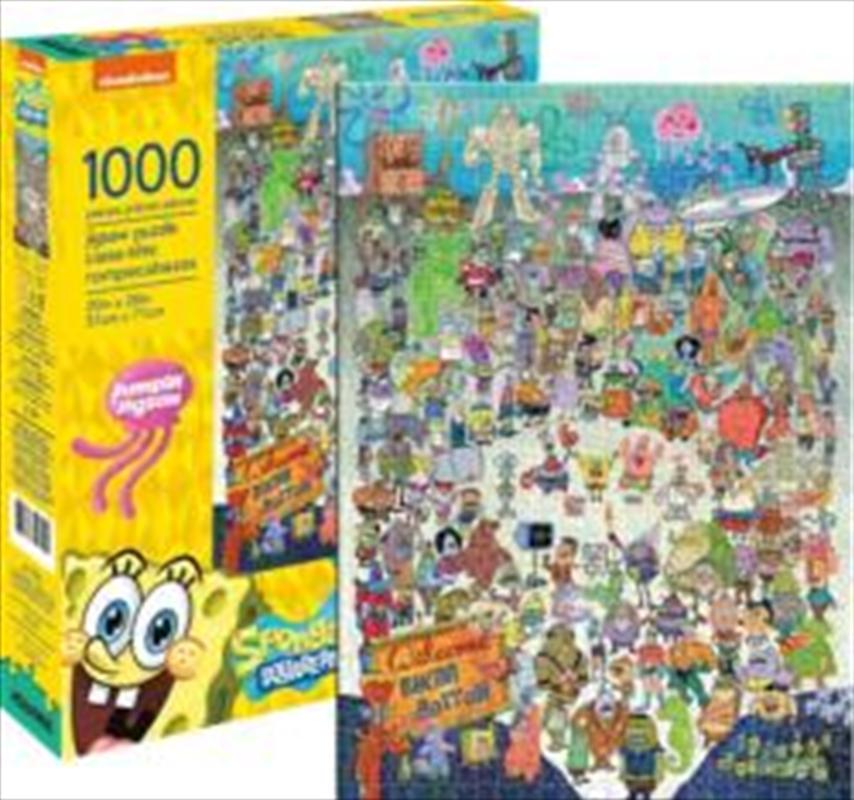 SpongeBob SquarePants Cast 1000 Piece   Merchandise