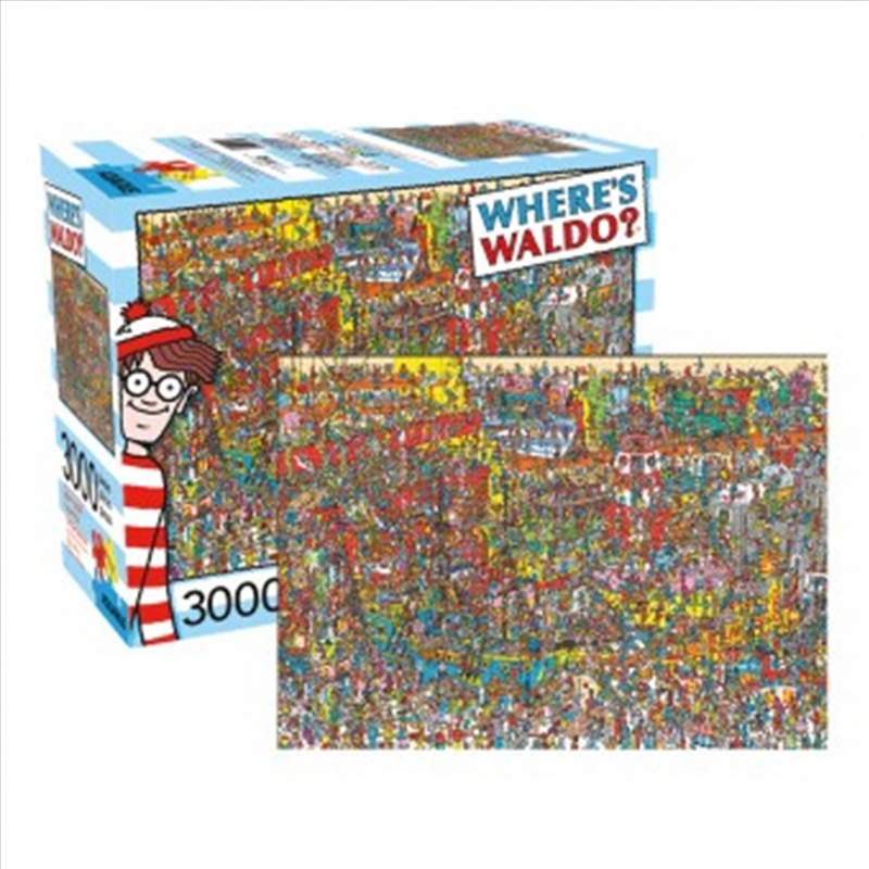 Where's Waldo 3000 Piece Puzzle | Merchandise