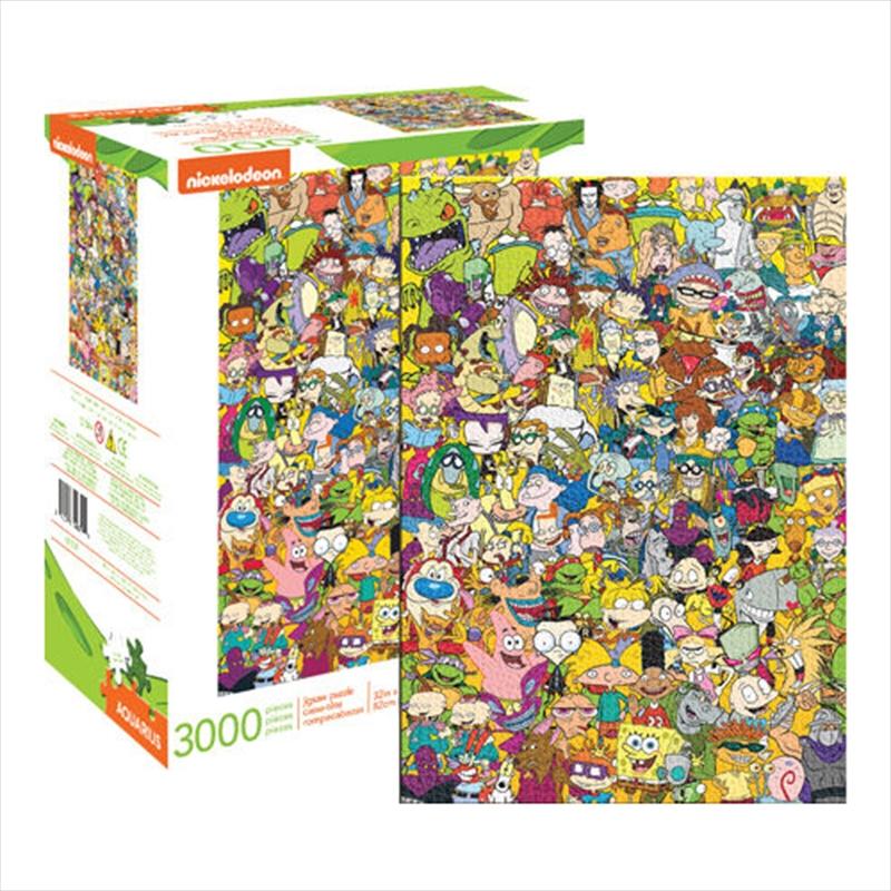 Nickelodeon Cast 3000 Piece Puzzle | Merchandise