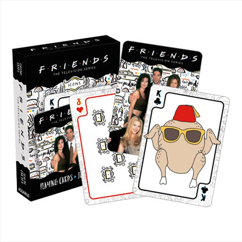 Friends Icons Playing Cards | Merchandise