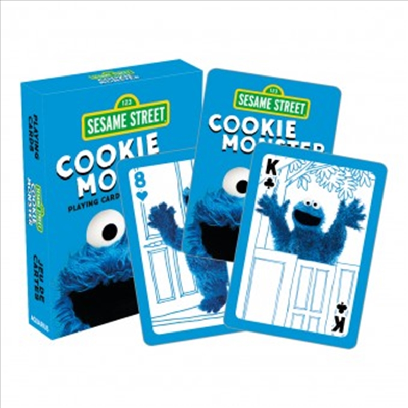 Cookie Monster Playing Cards | Merchandise