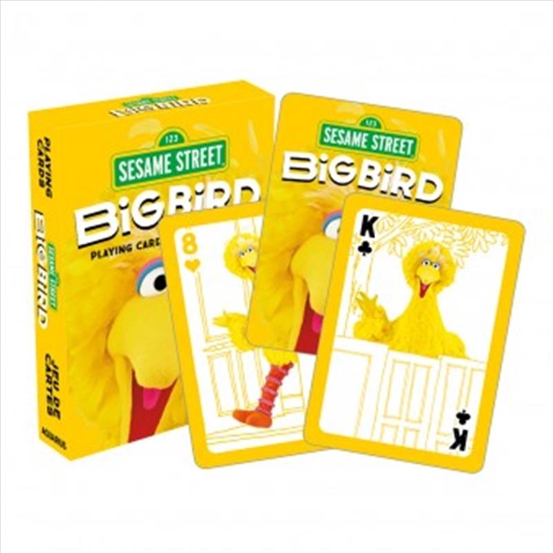 Big Bird Playing Cards | Merchandise