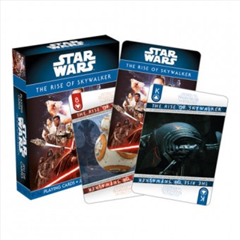 Star Wars Episode IX: The Rise of Skywalker Playing Cards | Merchandise