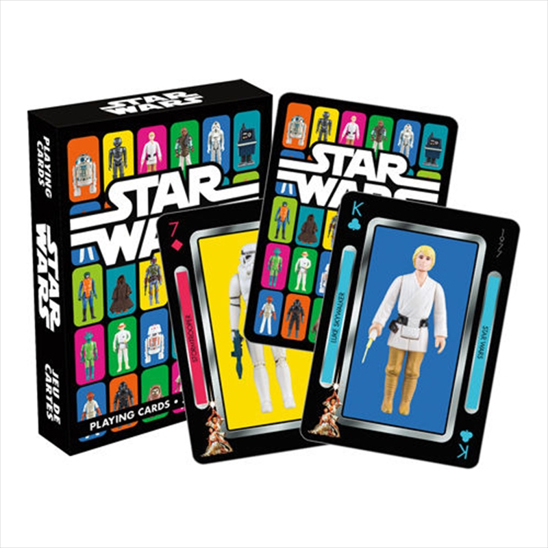 Star Wars Action Figures Playing Cards | Merchandise