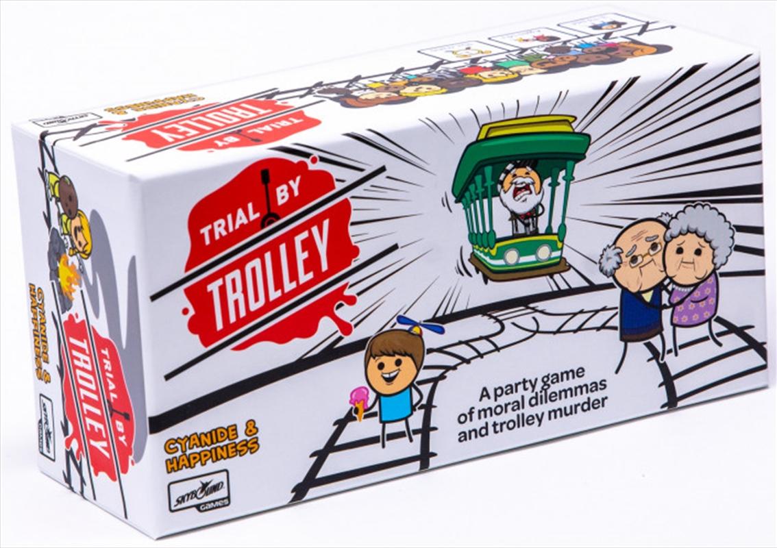Trial By Trolley   Merchandise