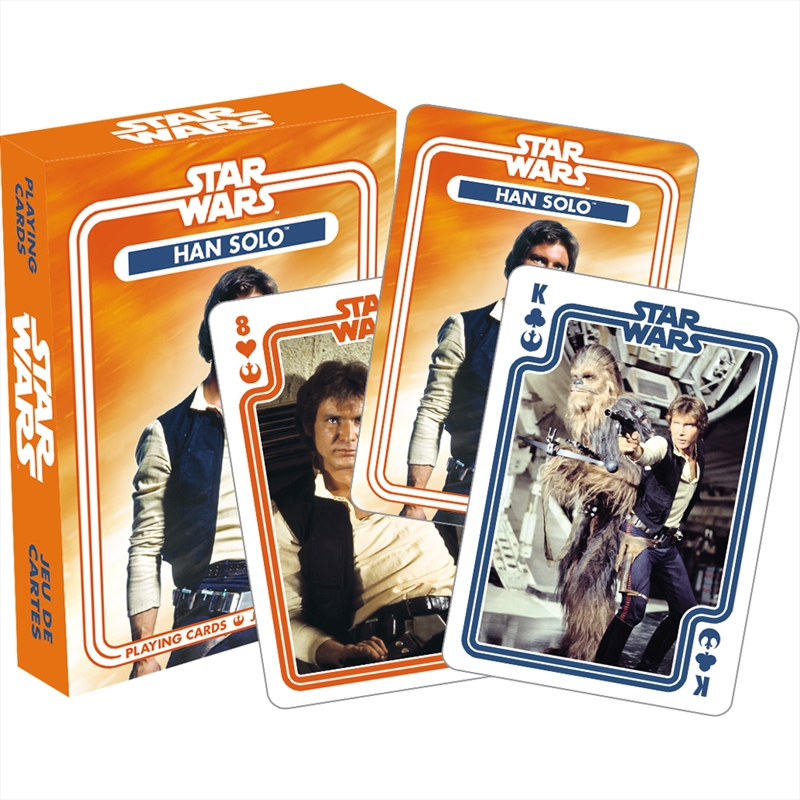 Han Solo Playing Cards | Merchandise