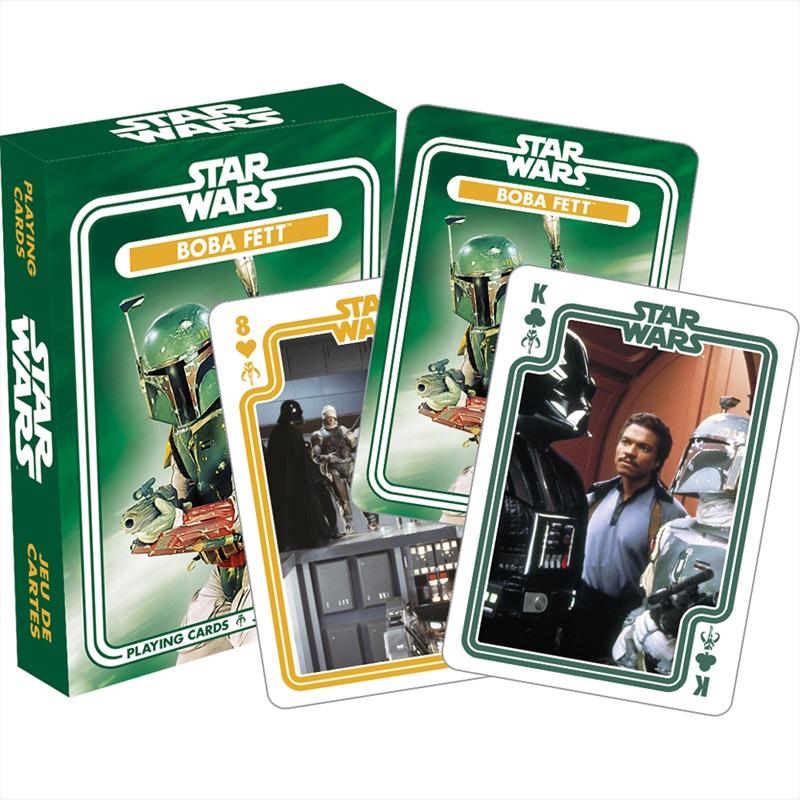 Boba Fett Playing Cards | Merchandise