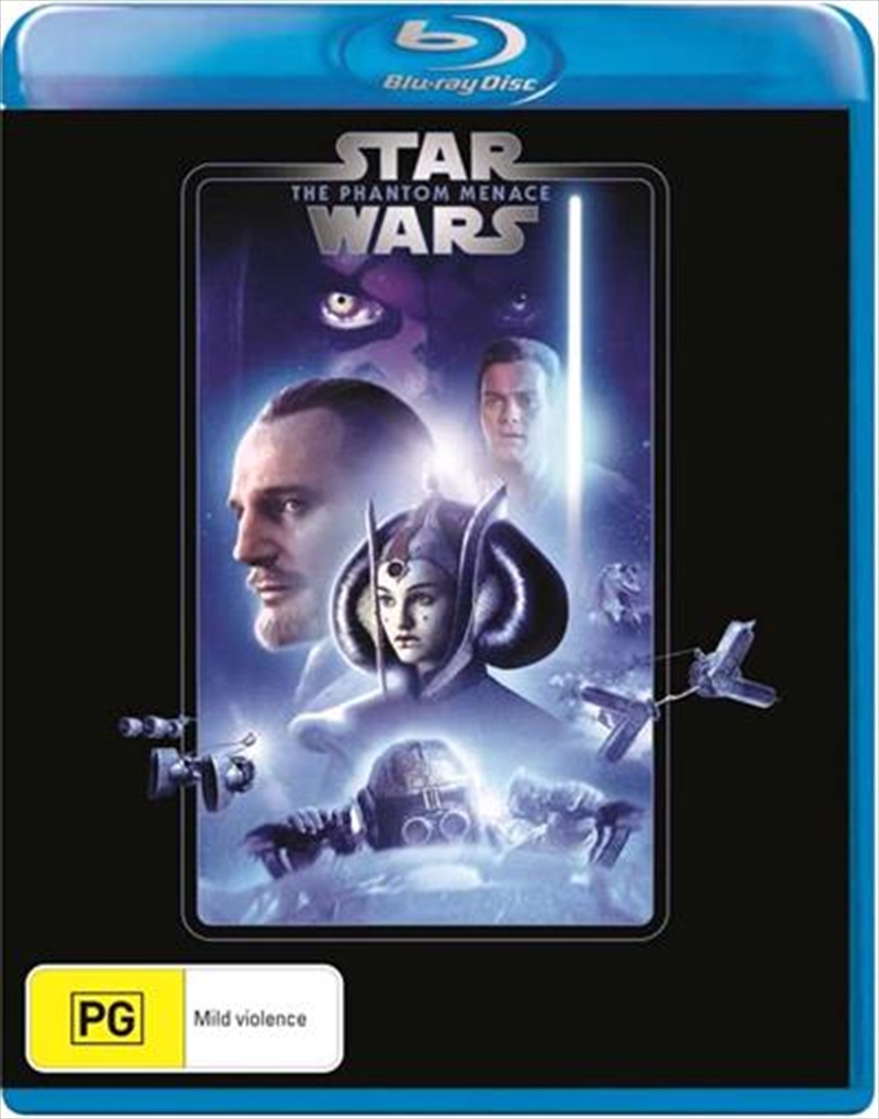 Star Wars - Episode I - The Phantom Menace | New Line Look | Blu-ray