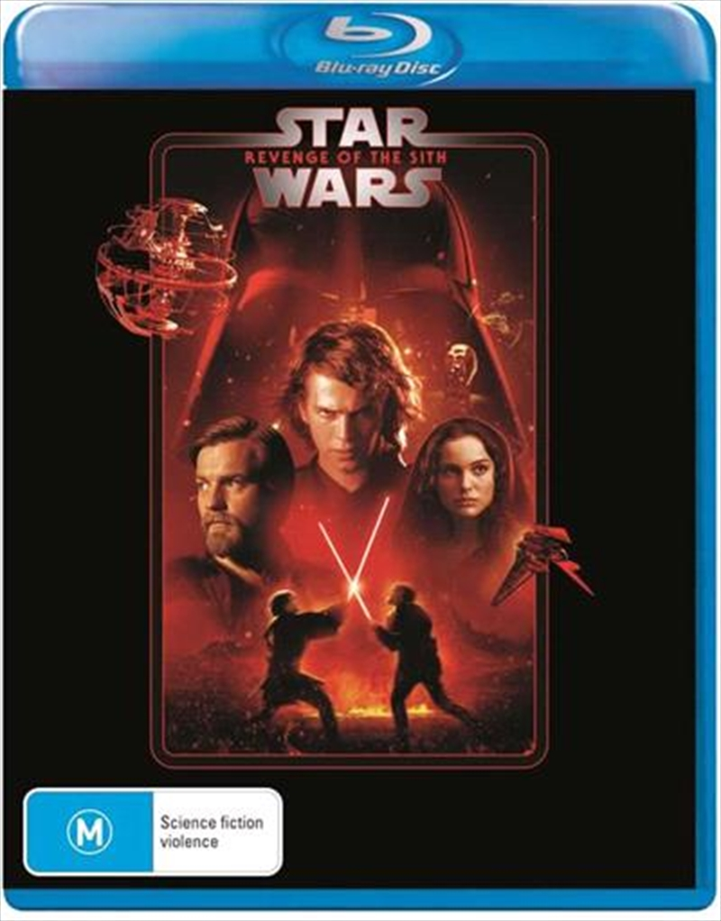 Star Wars - Episode III - Revenge Of The Sith | New Line Look | Blu-ray