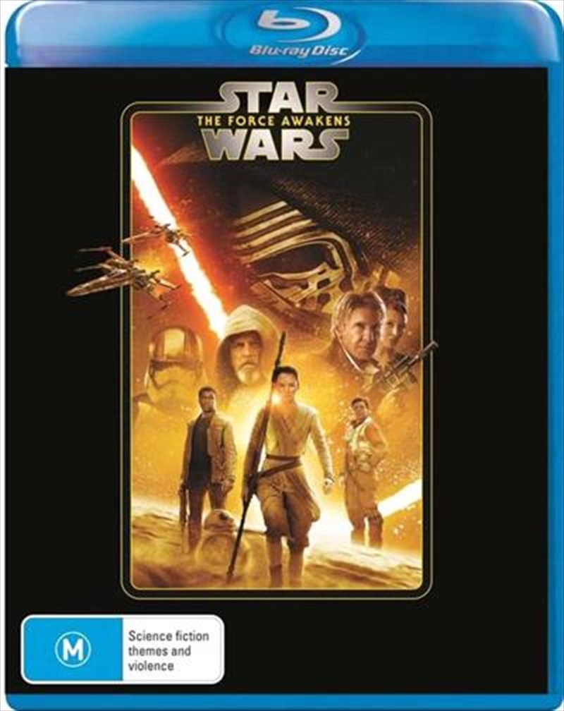 Star Wars - The Force Awakens | New Line Look | Blu-ray