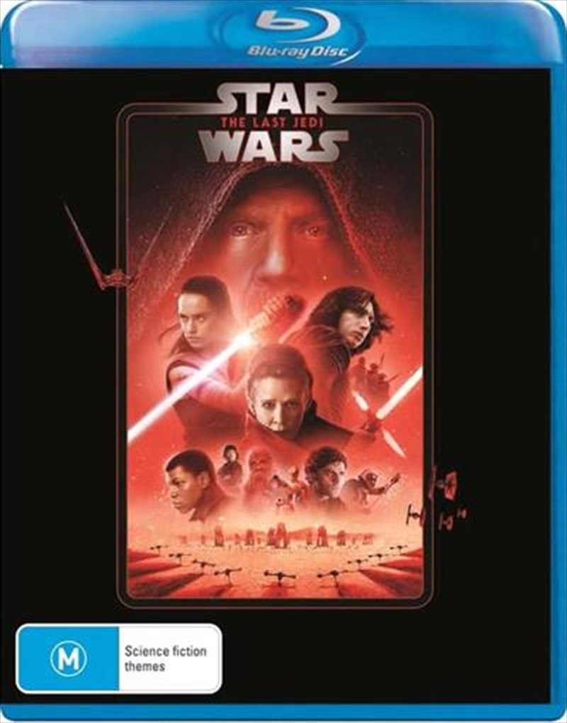 Star Wars - The Last Jedi | New Line Look | Blu-ray