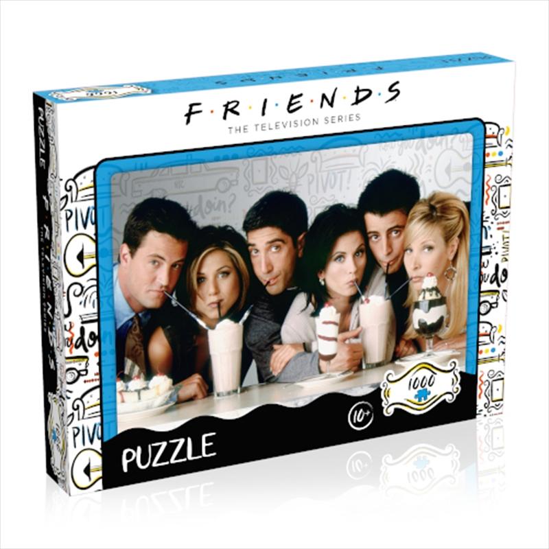Friends Milkshake 1000 Piece | Merchandise