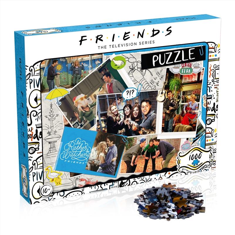 Friends Scrapbook 1000 Piece | Merchandise