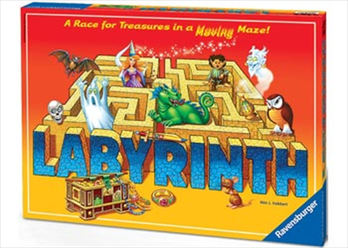 Ravensburger The Amazing Labyrinth Board Game   Merchandise