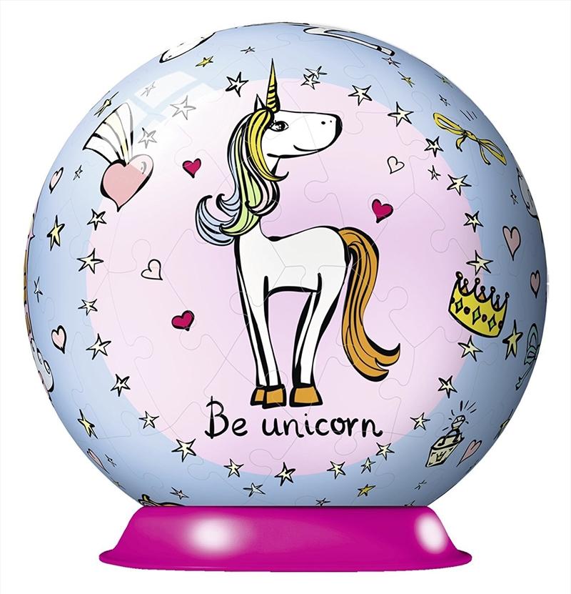 Unicorn Puzzleball 72 Piece 3D Puzzle | Merchandise