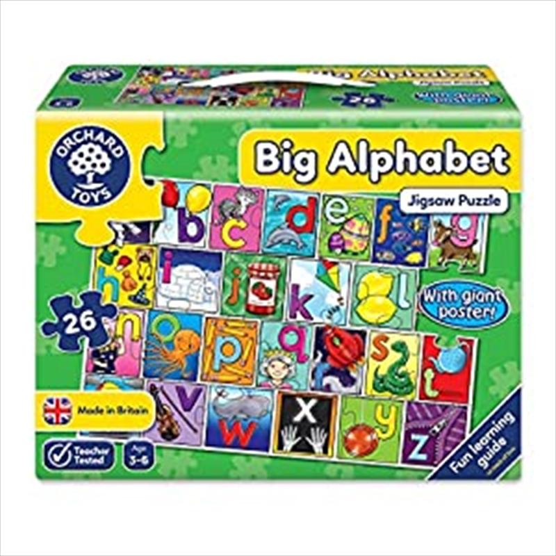 Big Alphabet Jigsaw And Poster | Merchandise