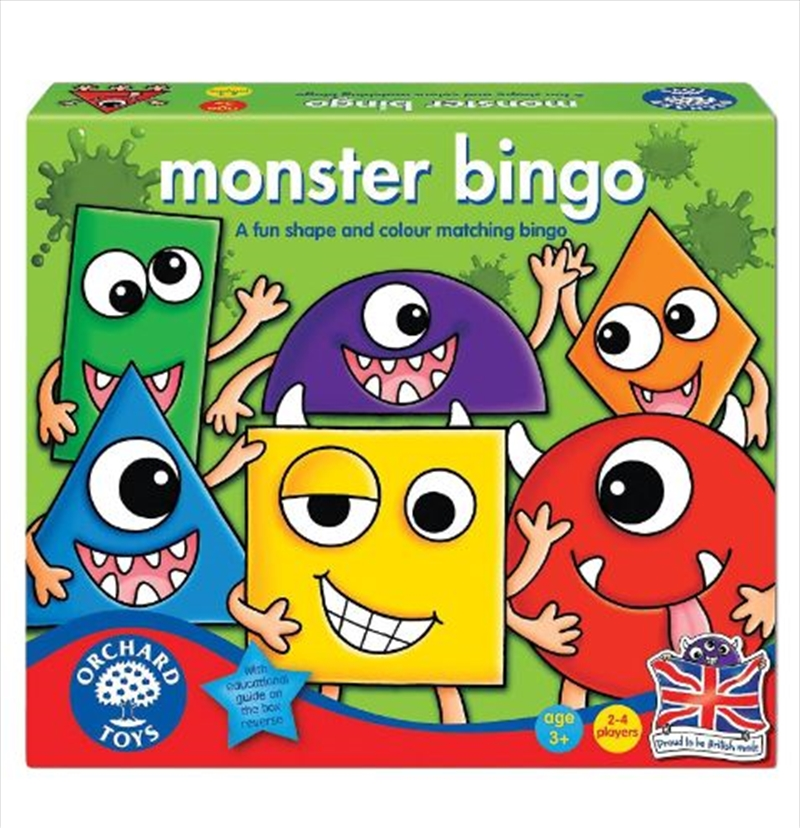 Orchard Toys – Monster Shape and Colour Bingo | Merchandise