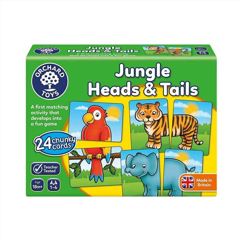 Jungle Heads And Tails | Merchandise