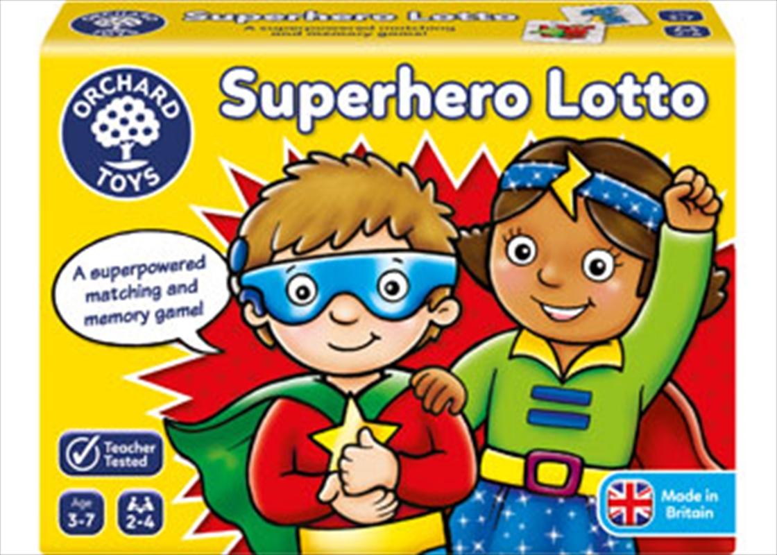 Superhero Lotto | Merchandise