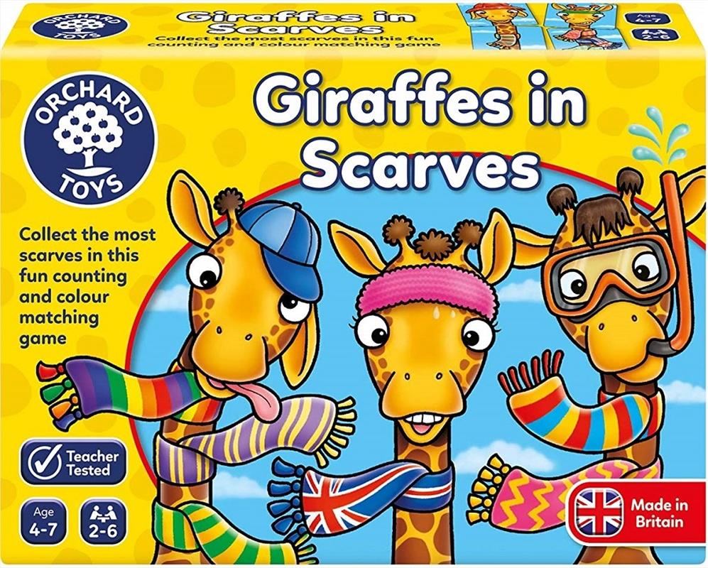 Giraffes In Scarves   Merchandise