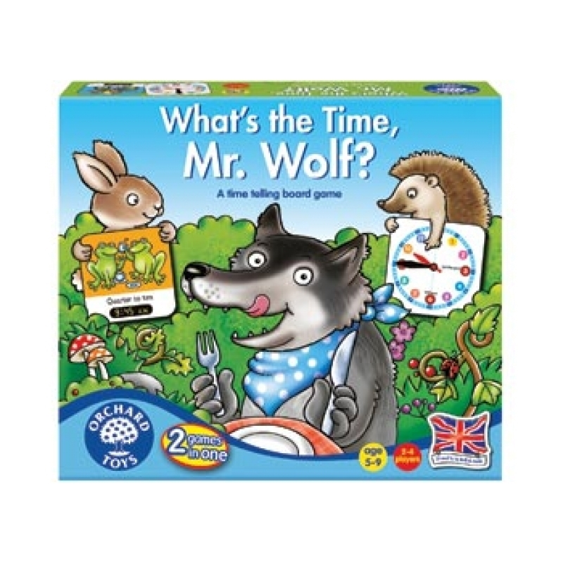 Whats The Time Mr Wolf | Merchandise