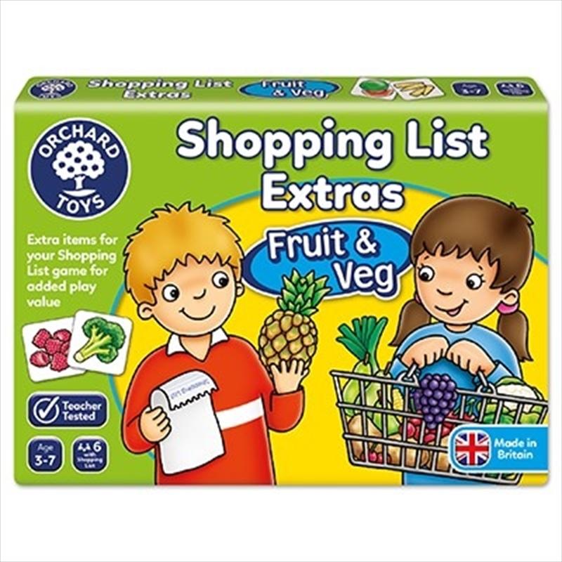 Shopping List Booster Pack Fruit And Veg | Merchandise