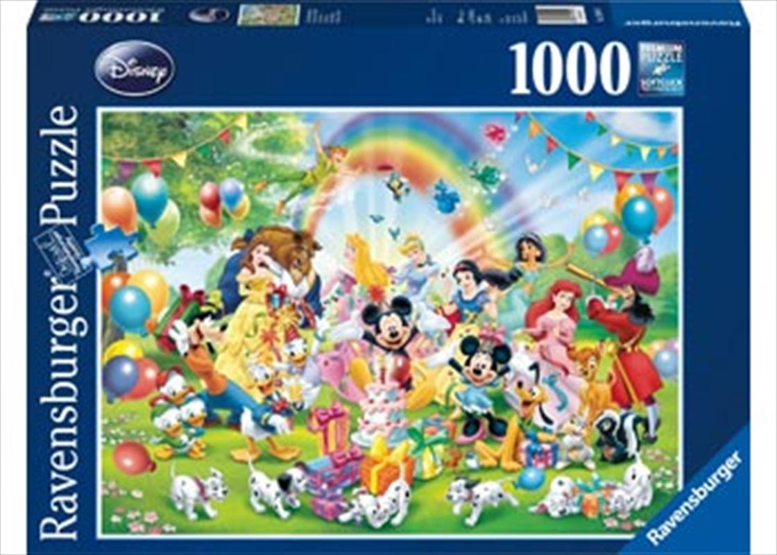 Ravensburger Disney Mickeys Birthday Puzzle - 1000 Pieces | Merchandise