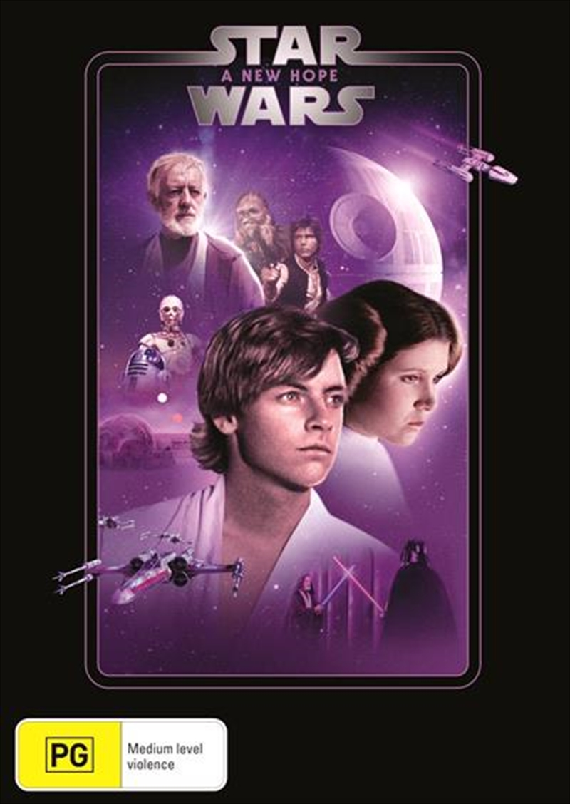Star Wars - Episode IV - A New Hope | New Line Look | DVD