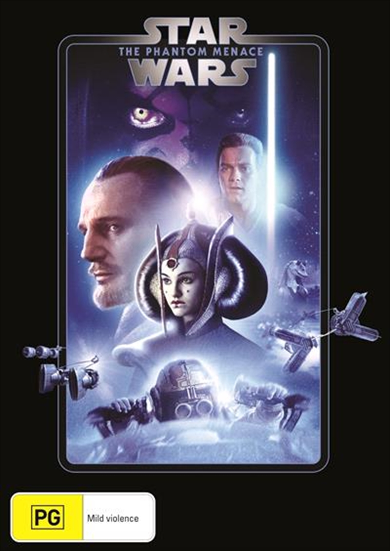 Star Wars - Episode I - The Phantom Menace | New Line Look | DVD