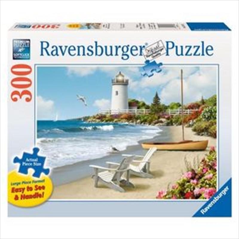 Ravensburger Sunlit Shores Large Format Puzzle - 300 Pieces | Merchandise