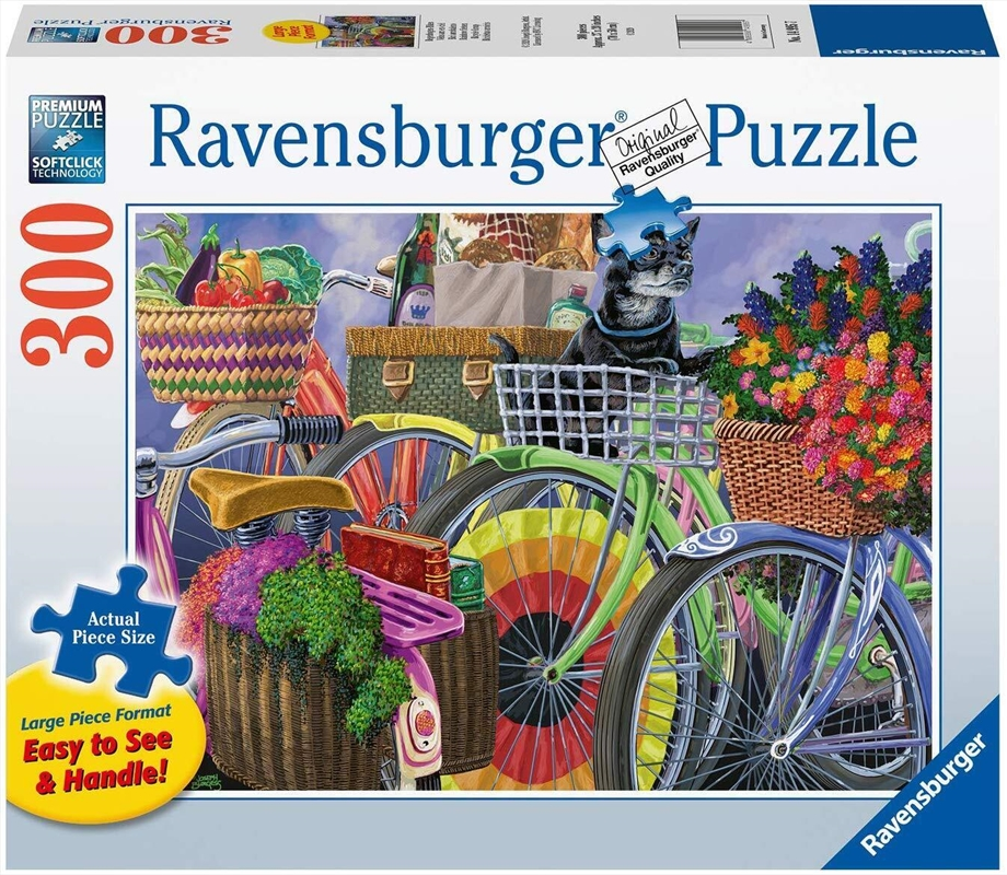 Ravensburger - Bicycle Group Large Format Puzzle 300 Piece | Merchandise