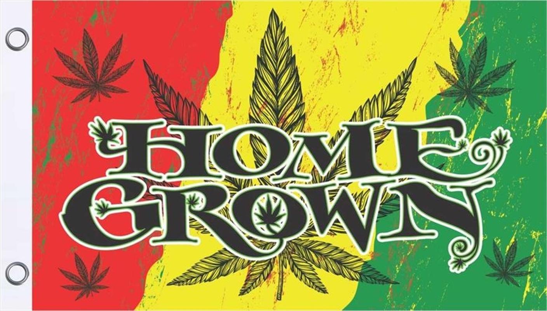 Home Grown Flag 3'X5' | Merchandise