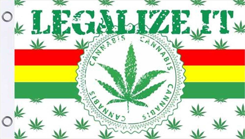 Legalize It Flag 3'X5' | Merchandise