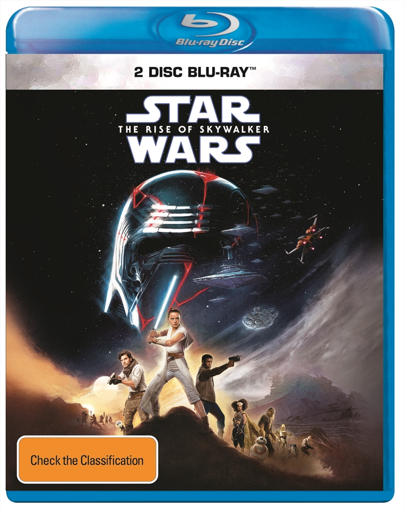 Star Wars - The Rise Of Skywalker (SANITY EXCLUSIVE) | Blu-ray