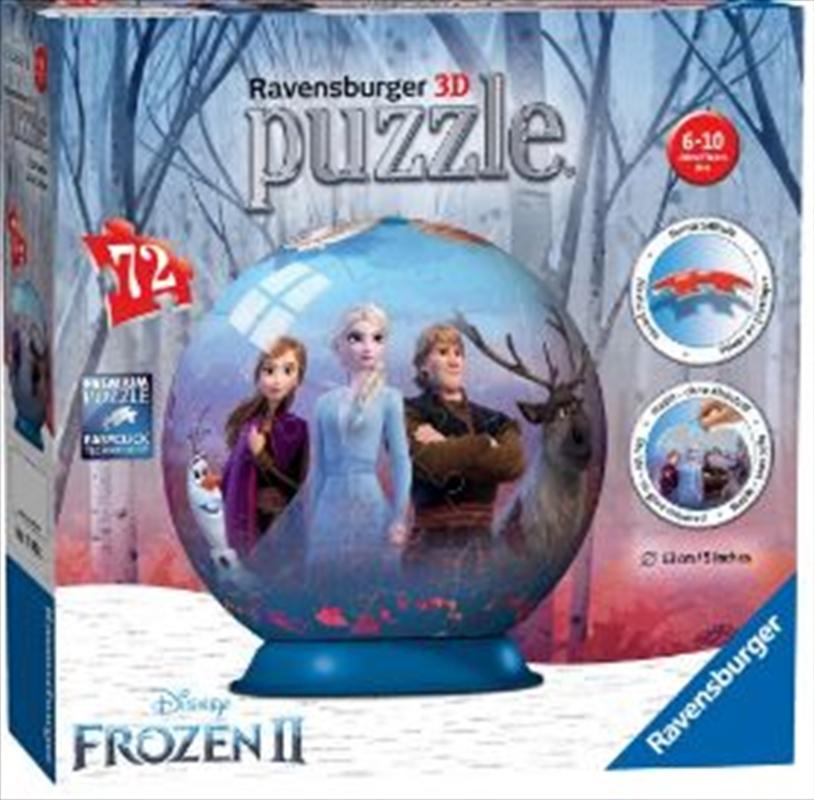 Frozen 2 - 3D Puzzleball 72pc   Merchandise