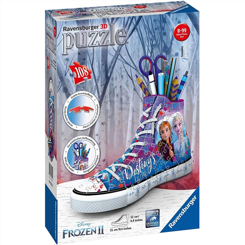Frozen 2 Sneaker 3D 108pc   Merchandise