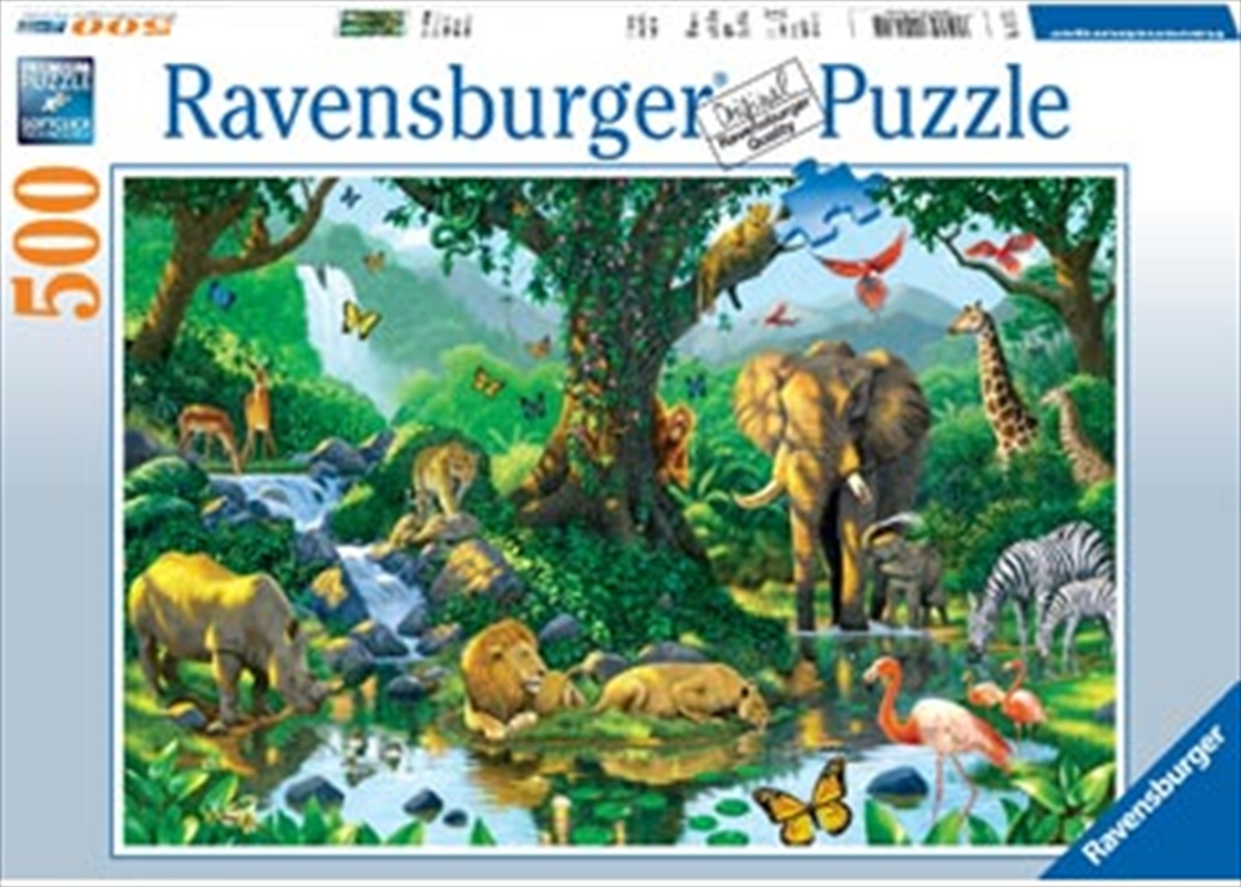 Ravensburger - Harmony in the Jungle 500 Piece Puzzle | Merchandise