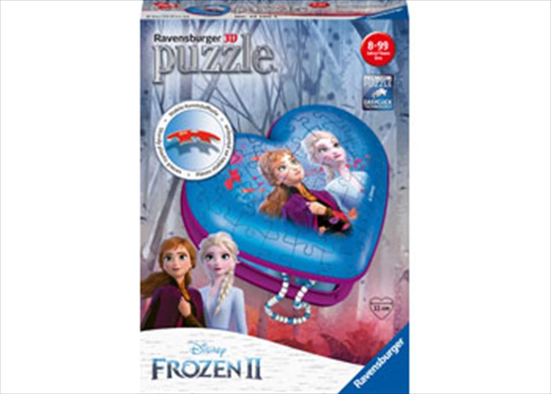 Frozen 2 - 3D Heart 54 Piece Puzzle | Merchandise