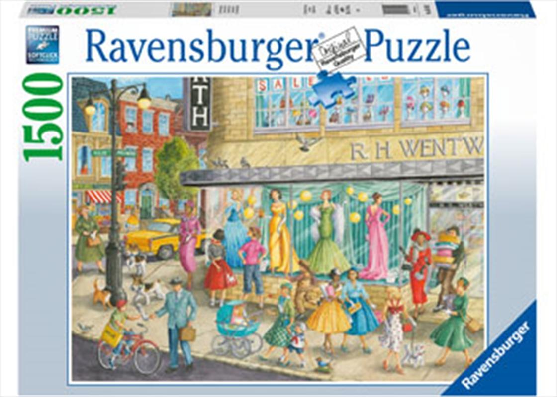 Sidewalk Fashion 1500 Piece Puzzle   Merchandise