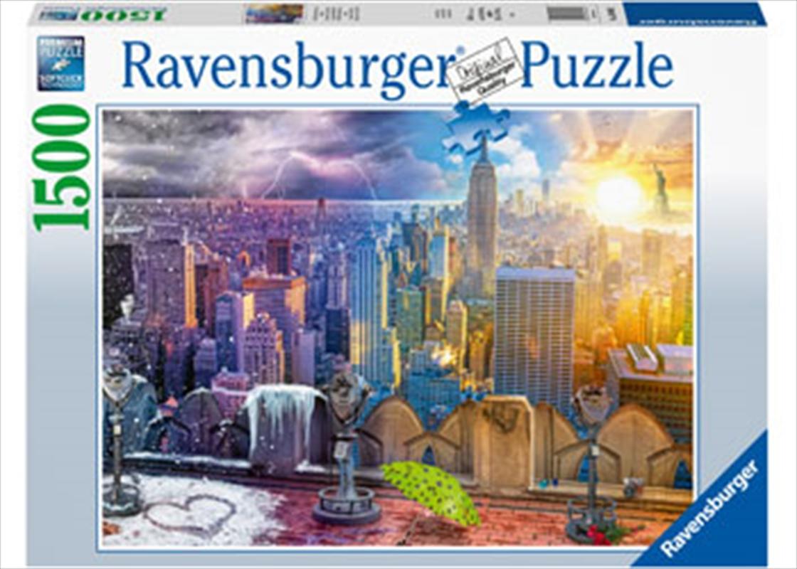 Seasons Of New York 1500 Piece Puzzle | Merchandise