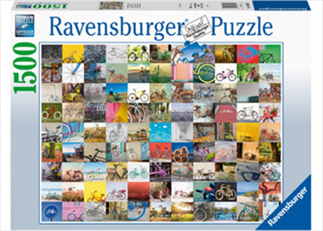 99 Bicycles And More 1500 Piece Puzzle | Merchandise