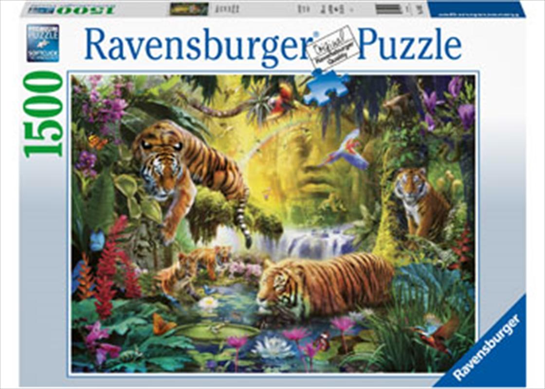Tranquil Tigers 1500 Piece Puzzle   Merchandise