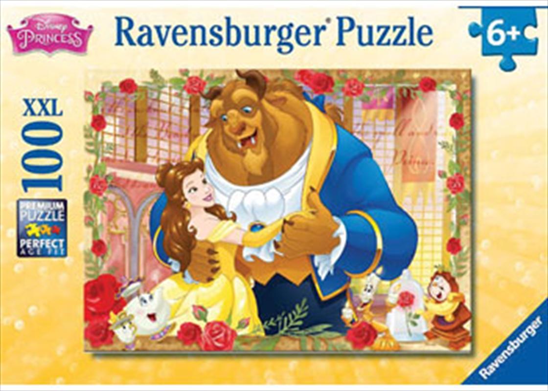 Ravensburger - Disney Belle & Beast Puzzle 100 Piece   Merchandise