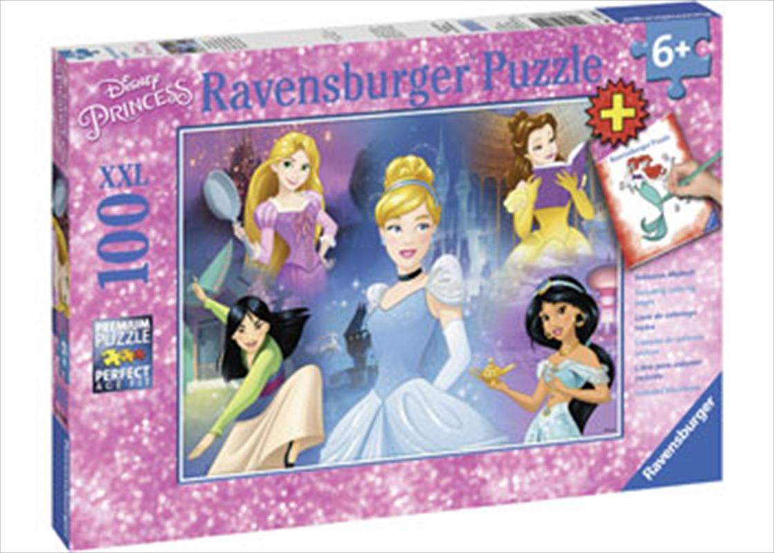 Ravensburger - Disney Charming Princess Puzzle 100 Piece   Merchandise