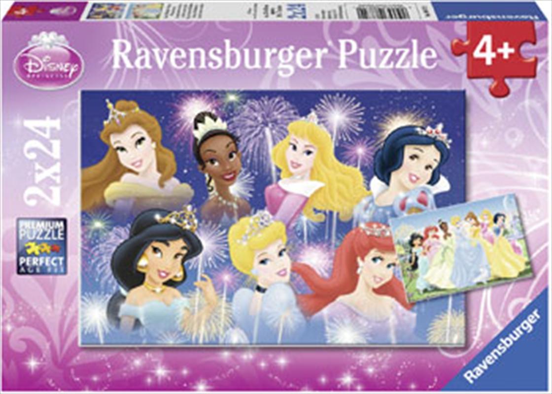 Disney Princesses Gathering 2x24 Piece Puzzle | Merchandise